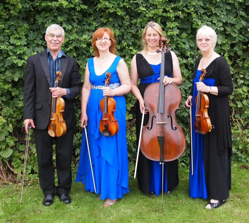 Scherzando Quartet Aug 2013